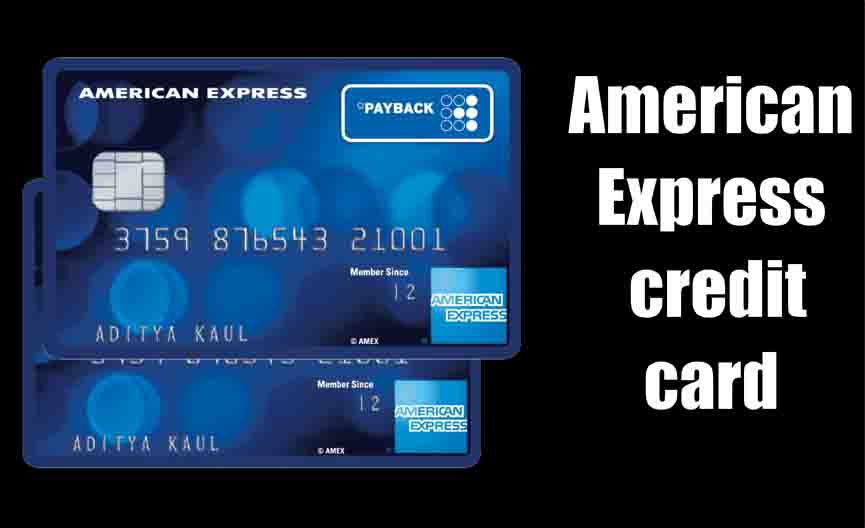 American Express credit card